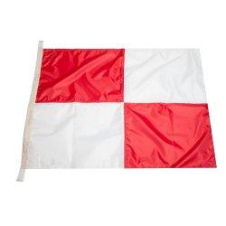 Флаг Международного свода сигналов цифровой U (Uniform)