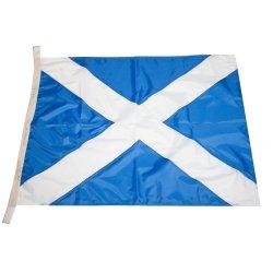 Флаг Международного свода сигналов цифровой M (Mike)