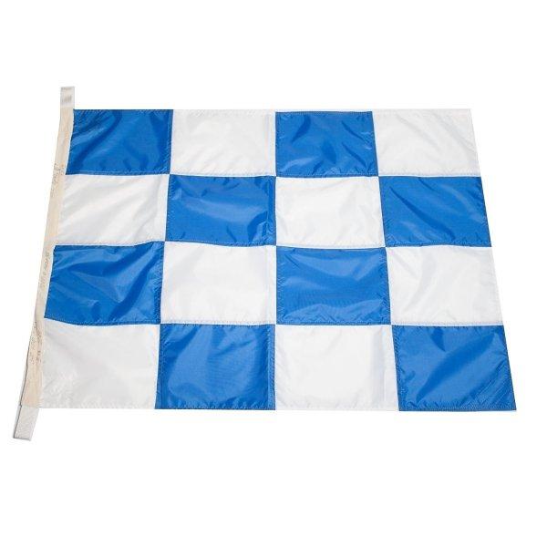 Флаг Международного свода сигналов цифровой N (November)