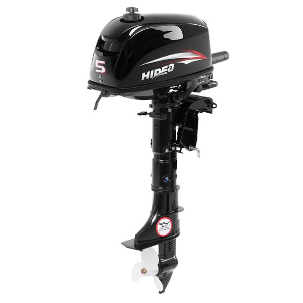 Двухтактный лодочный мотор HIDEA HD5FHS (без бака)