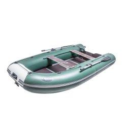 Лодка ПВХ STEFA – 3200 МК Gold под мотор надувная серо-черный