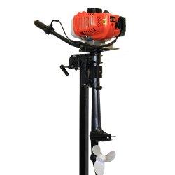 Двухтактный лодочный мотор GLmarine T3.5 (гибрид возд+вод охл)